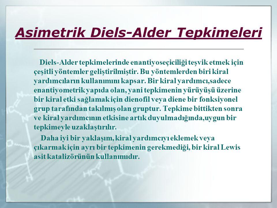 Asimetrik Diels-Alder Tepkimeleri