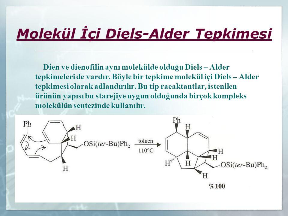 Molekül İçi Diels-Alder Tepkimesi