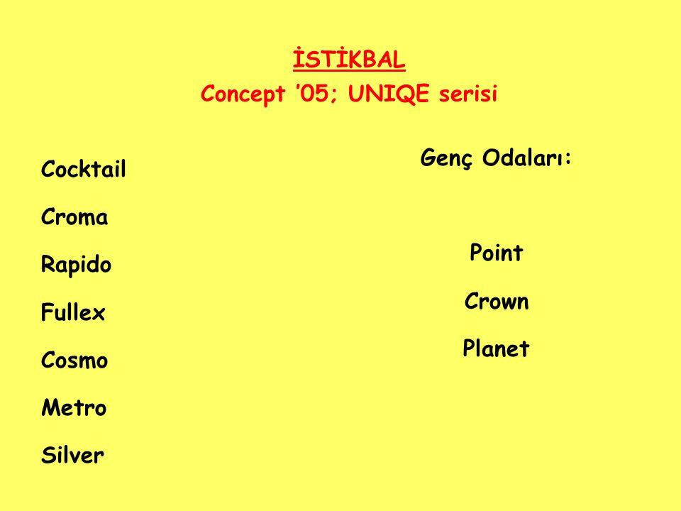 İSTİKBAL Concept '05; UNIQE serisi