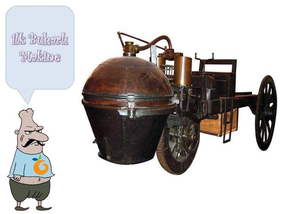 ilk Buharlı Makine