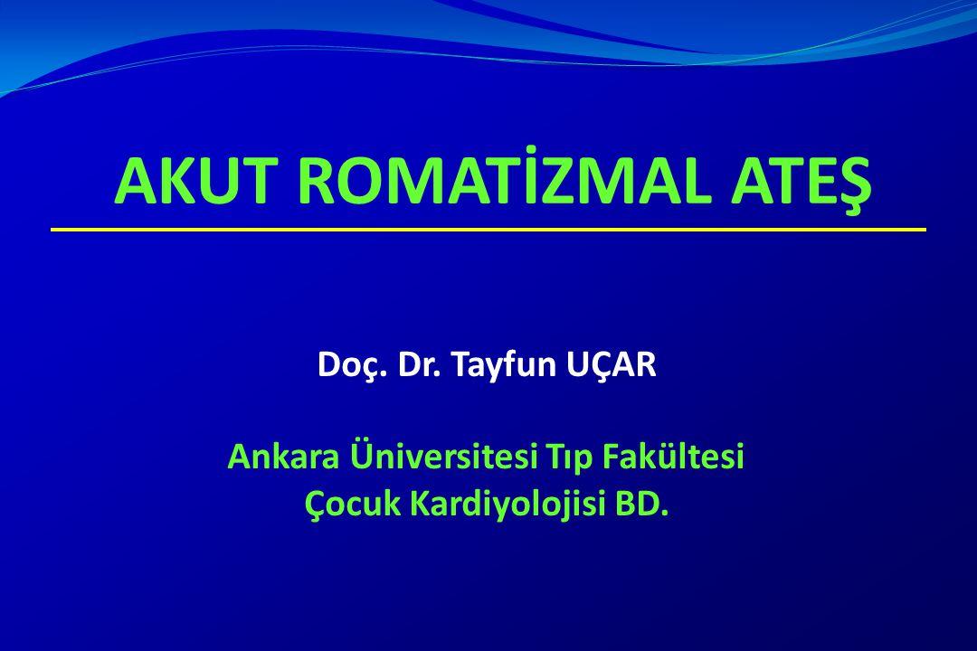 Ankara Üniversitesi Tıp Fakültesi Çocuk Kardiyolojisi BD.