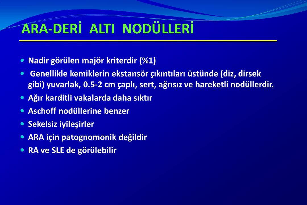 ARA-DERİ ALTI NODÜLLERİ