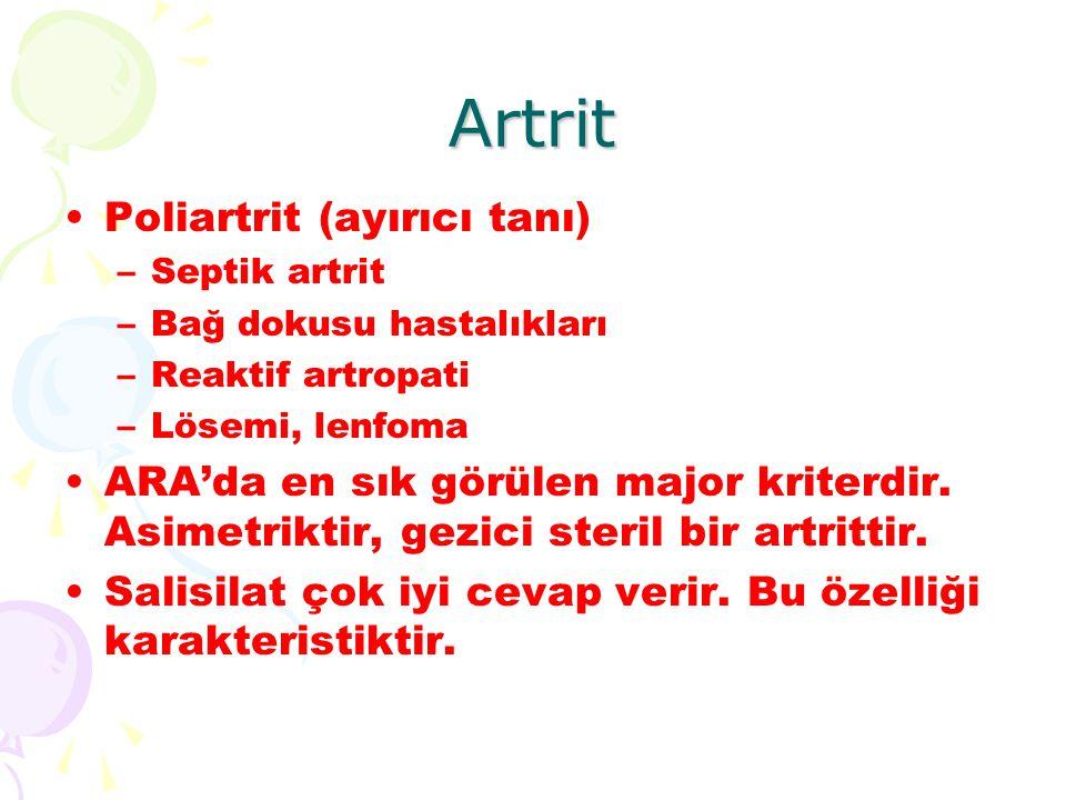 Artrit Poliartrit (ayırıcı tanı)