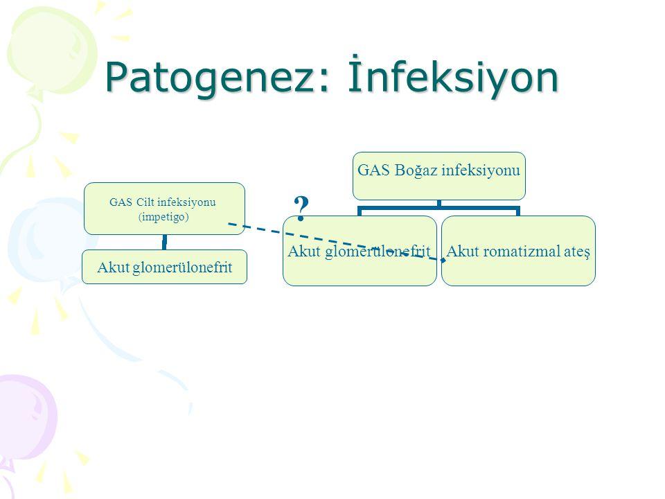 Patogenez: İnfeksiyon