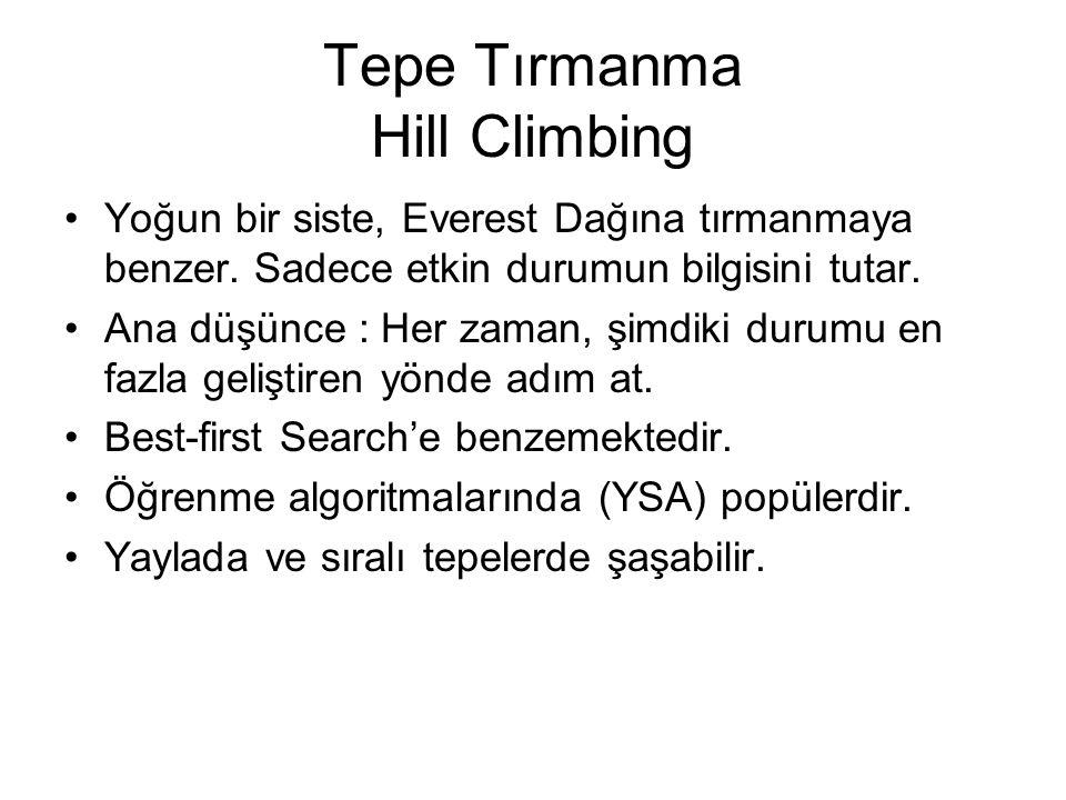 Tepe Tırmanma Hill Climbing