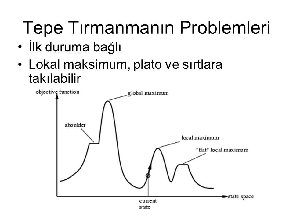 Tepe Tırmanmanın Problemleri