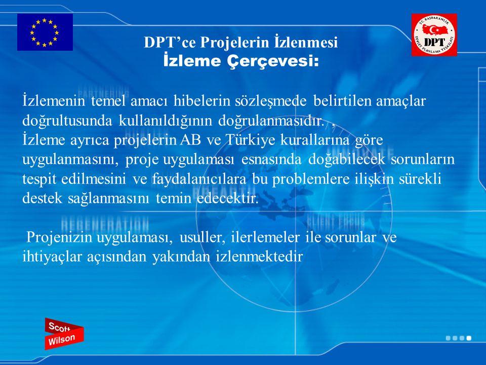 DPT'ce Projelerin İzlenmesi