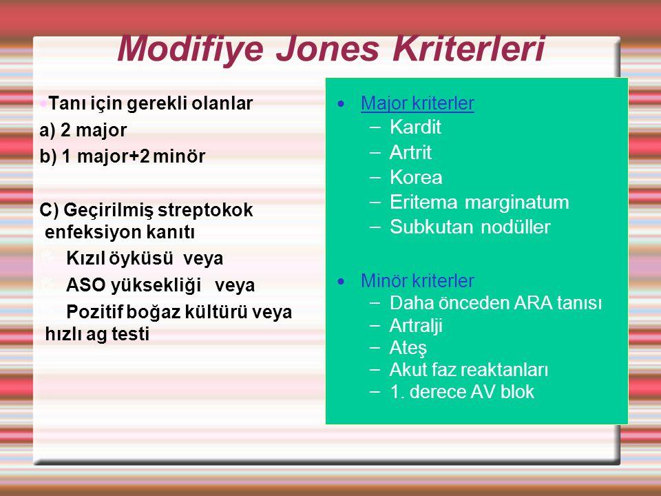 Modifiye Jones Kriterleri