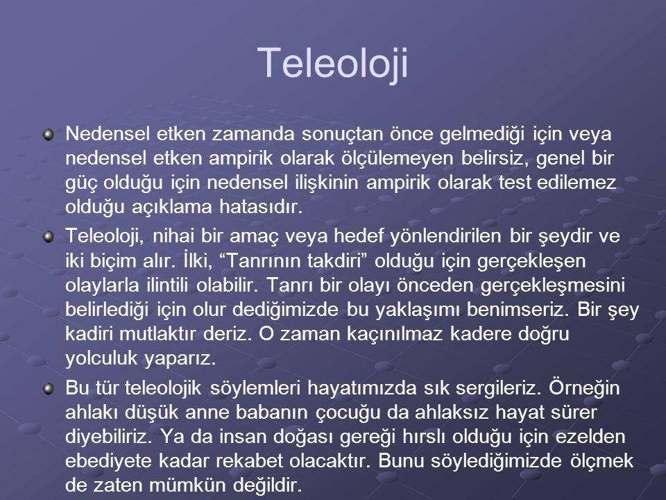 Teleoloji