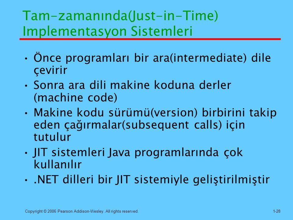 Tam-zamanında(Just-in-Time) Implementasyon Sistemleri