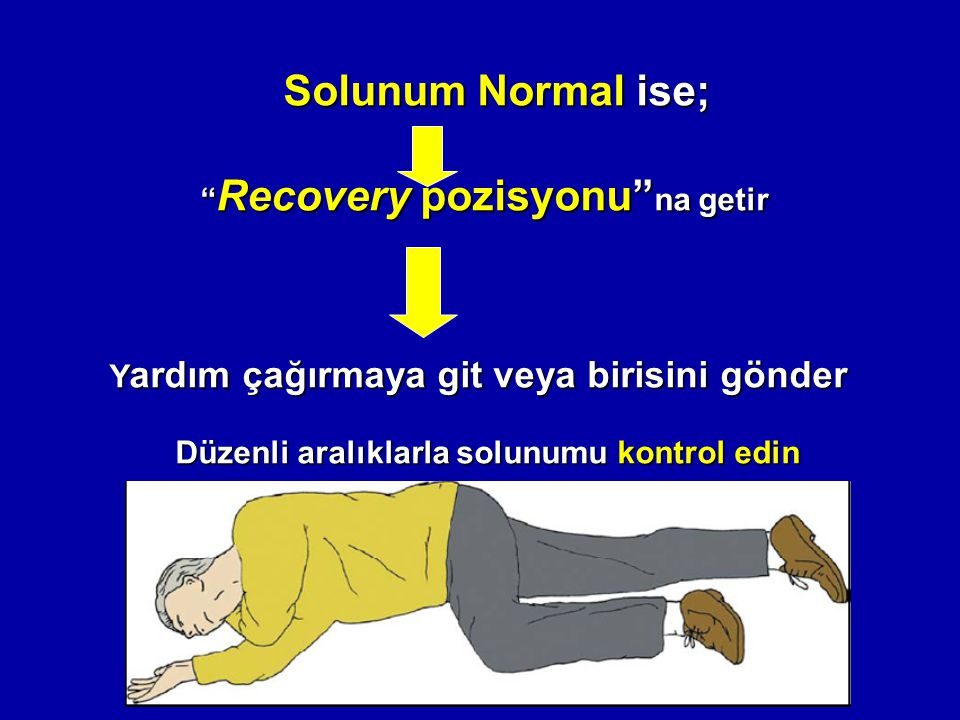 Recovery pozisyonu na getir