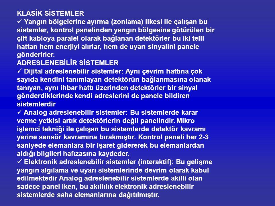 KLASİK SİSTEMLER