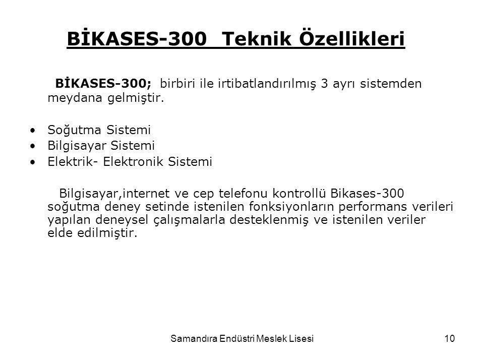 BİKASES-300 Teknik Özellikleri