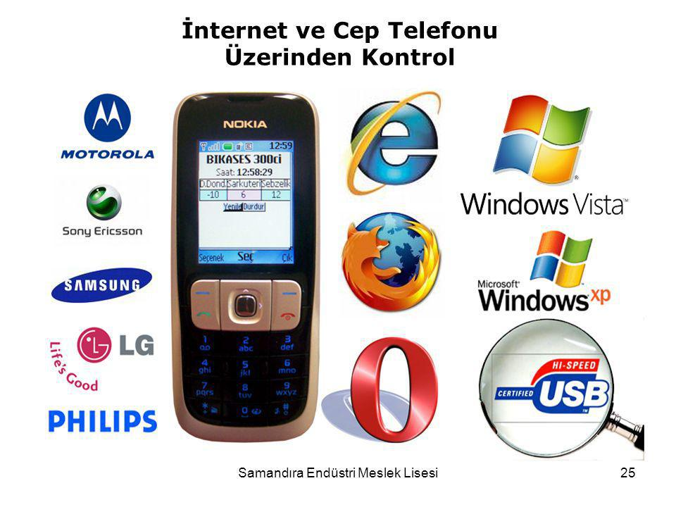 İnternet ve Cep Telefonu Üzerinden Kontrol