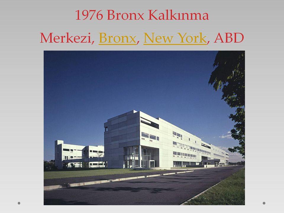 1976 Bronx Kalkınma Merkezi, Bronx, New York, ABD
