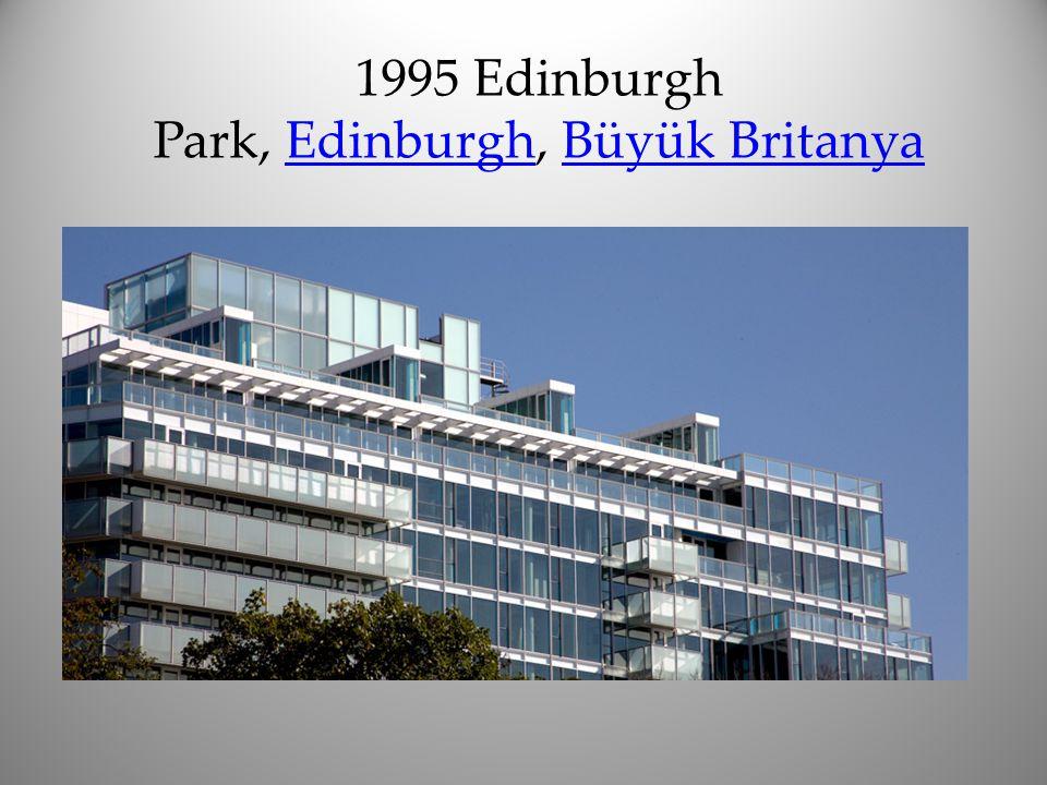 1995 Edinburgh Park, Edinburgh, Büyük Britanya