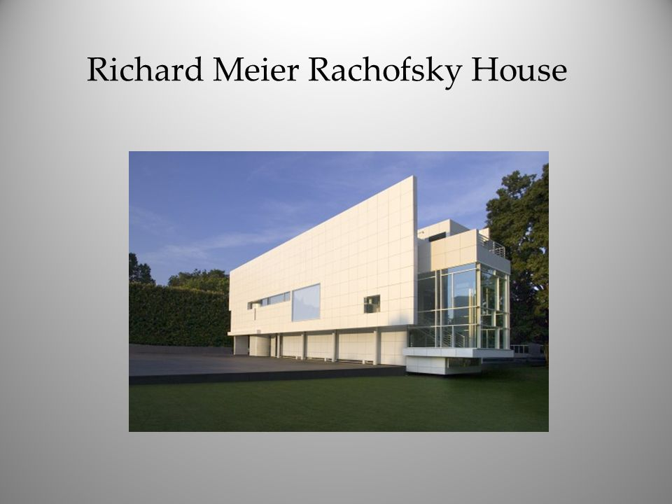 Richard Meier Rachofsky House