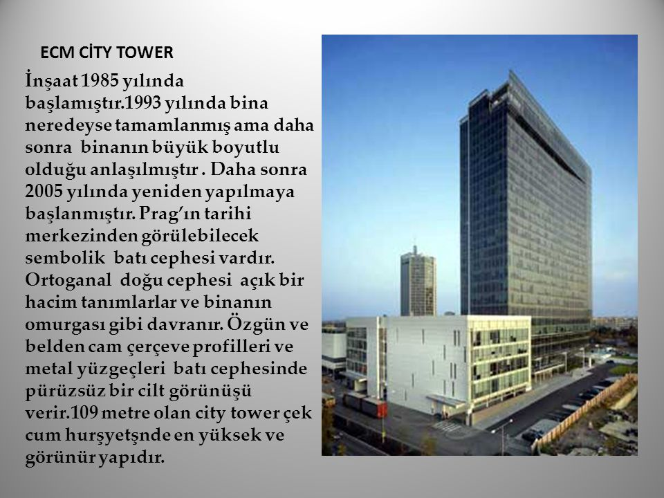 ECM CİTY TOWER