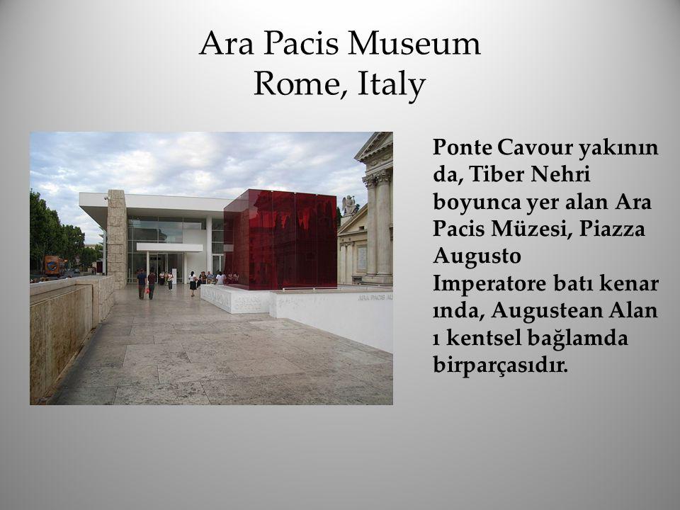 Ara Pacis Museum Rome, Italy