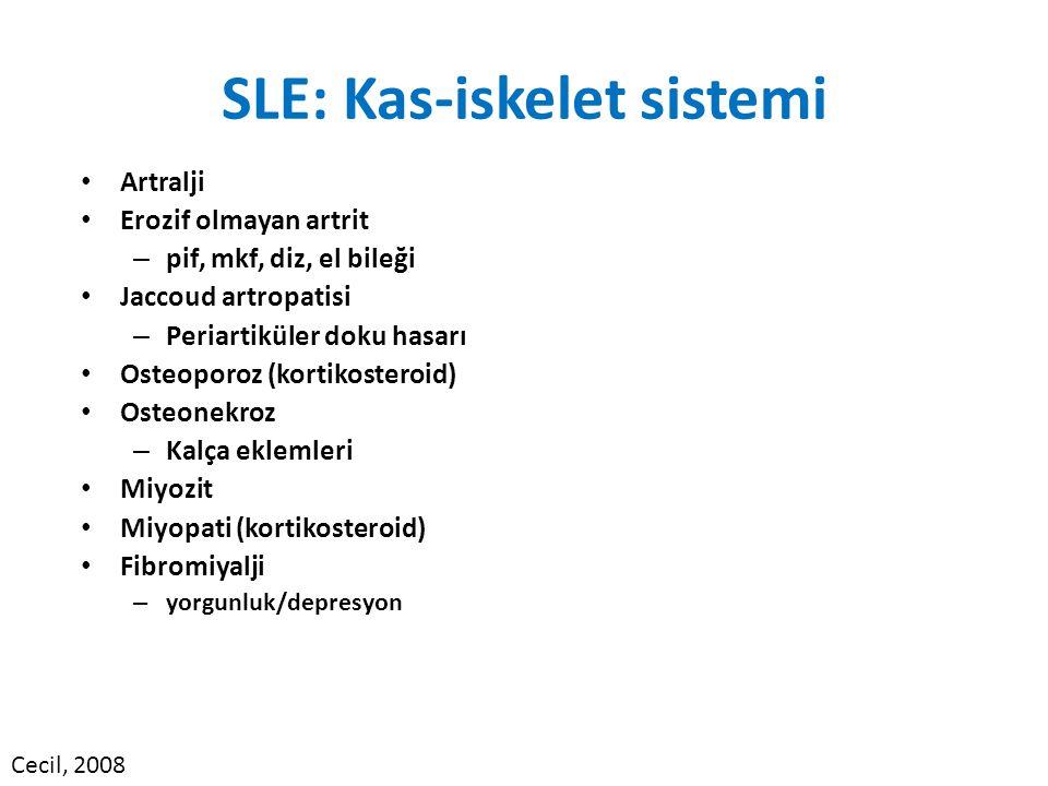 SLE: Kas-iskelet sistemi