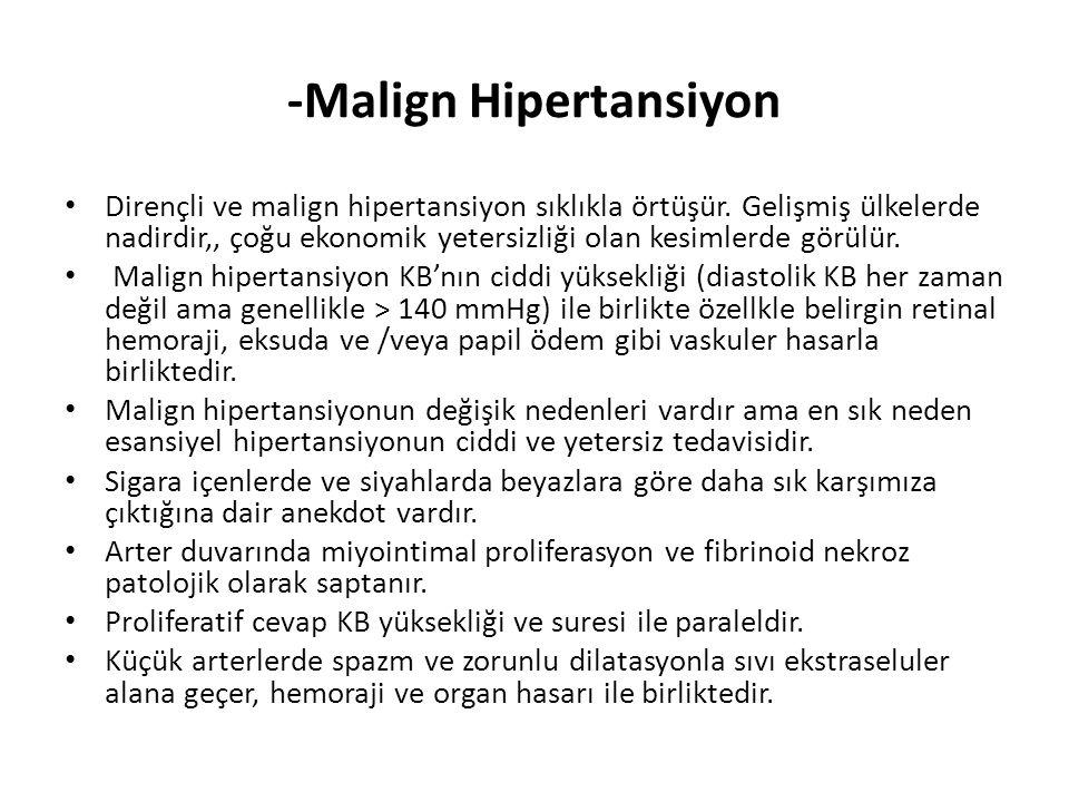 -Malign Hipertansiyon