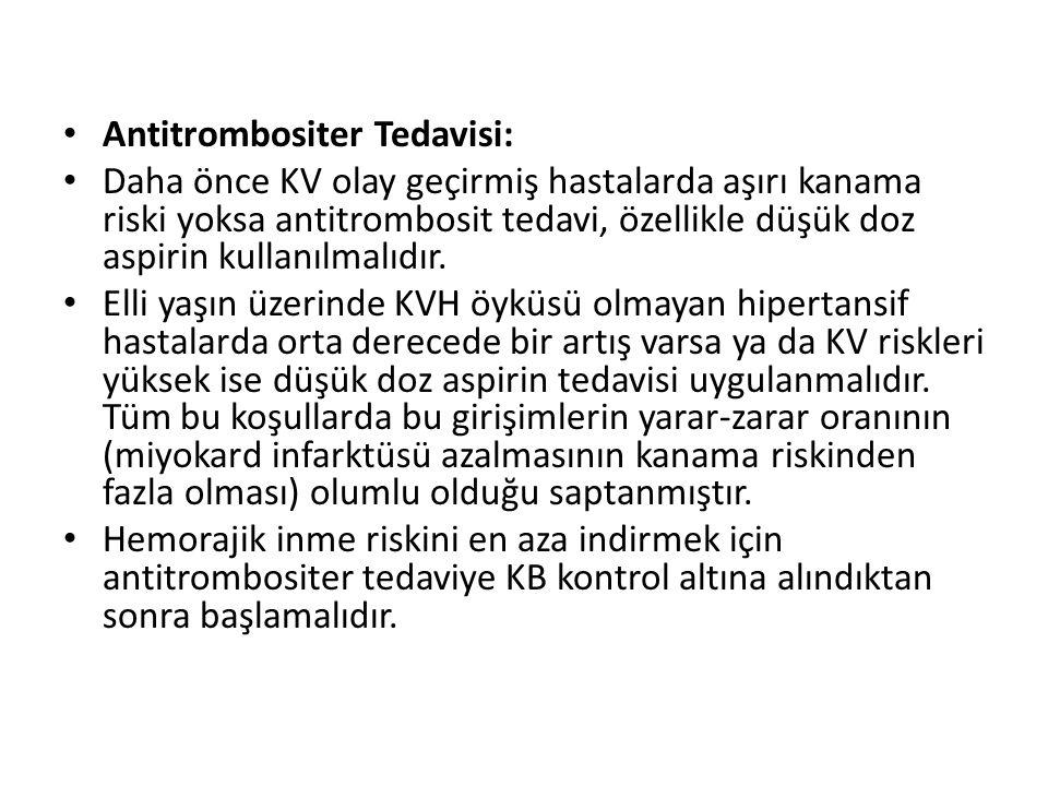 Antitrombositer Tedavisi:
