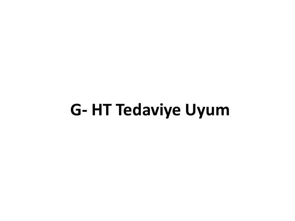 G- HT Tedaviye Uyum