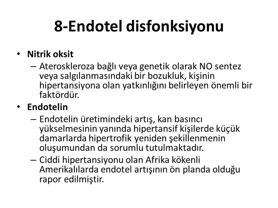 8-Endotel disfonksiyonu