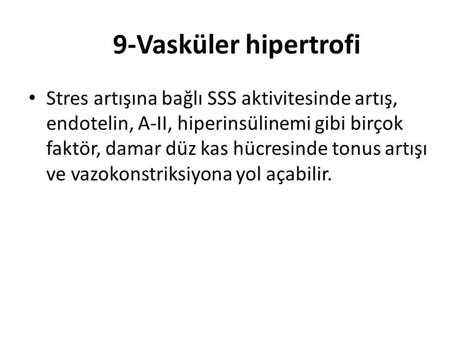 9-Vasküler hipertrofi