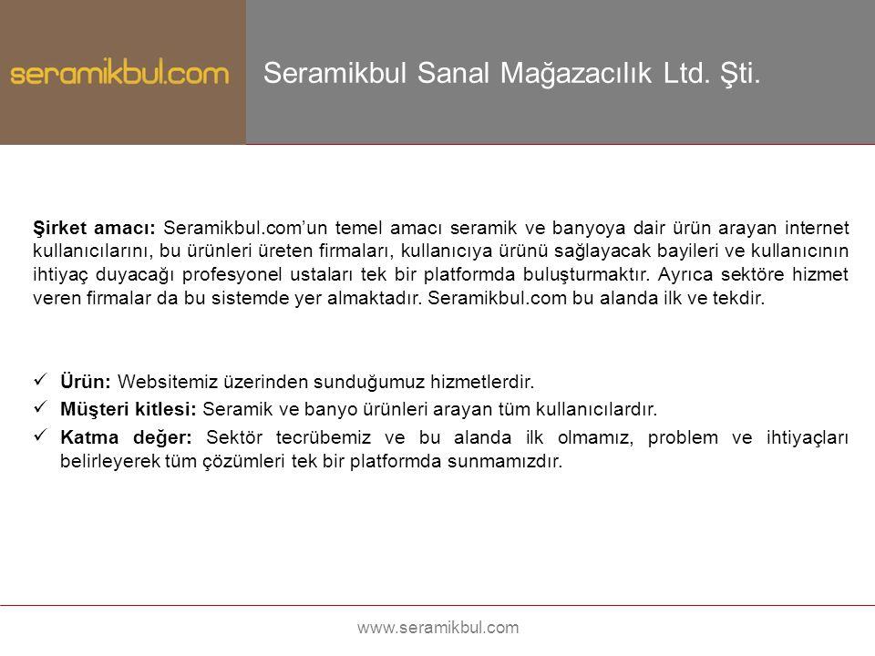 Seramikbul Sanal Mağazacılık Ltd. Şti.