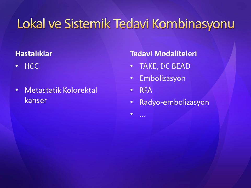 Lokal ve Sistemik Tedavi Kombinasyonu