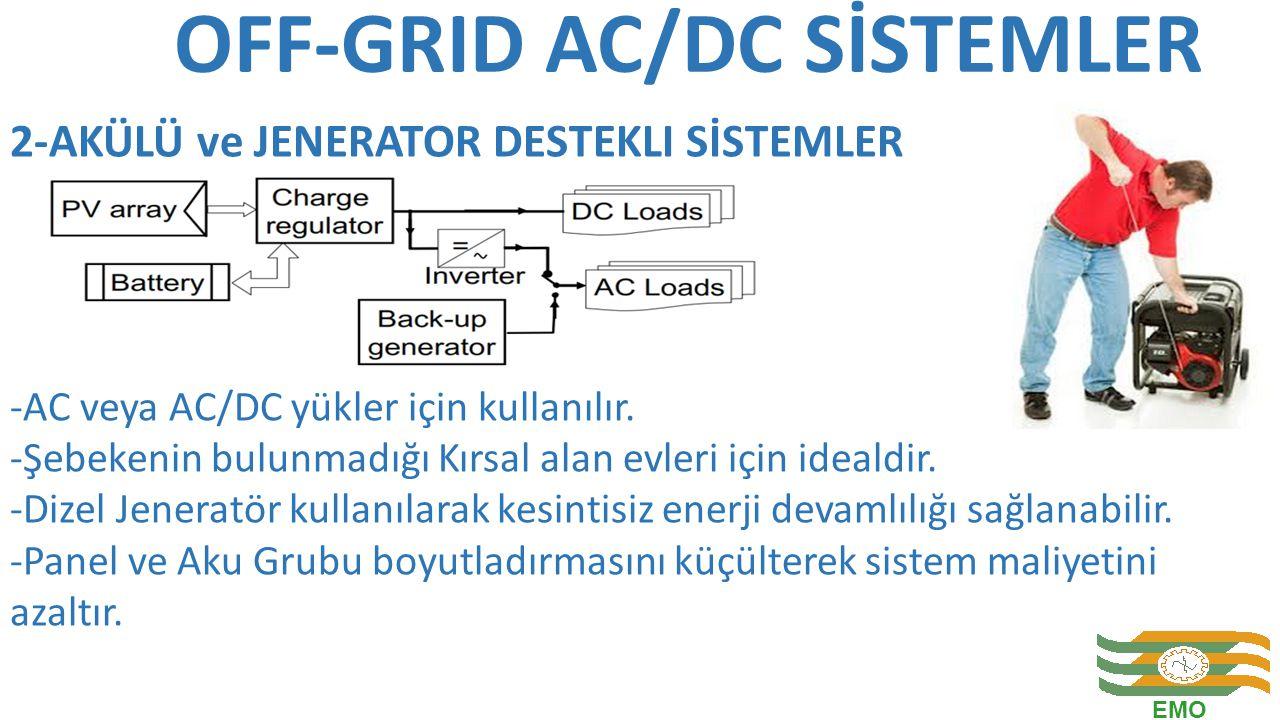 OFF-GRID AC/DC SİSTEMLER