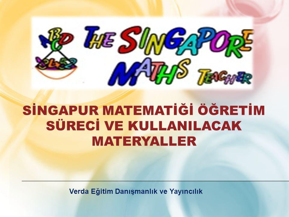 Sİngapur matematİğİ öğretİm sürecİ ve kullanIlacak materyaller