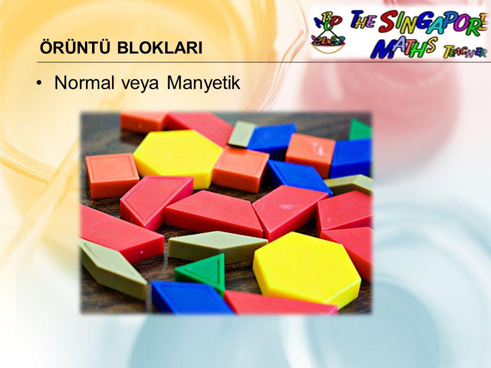 Örüntü BloklarI Normal veya Manyetik