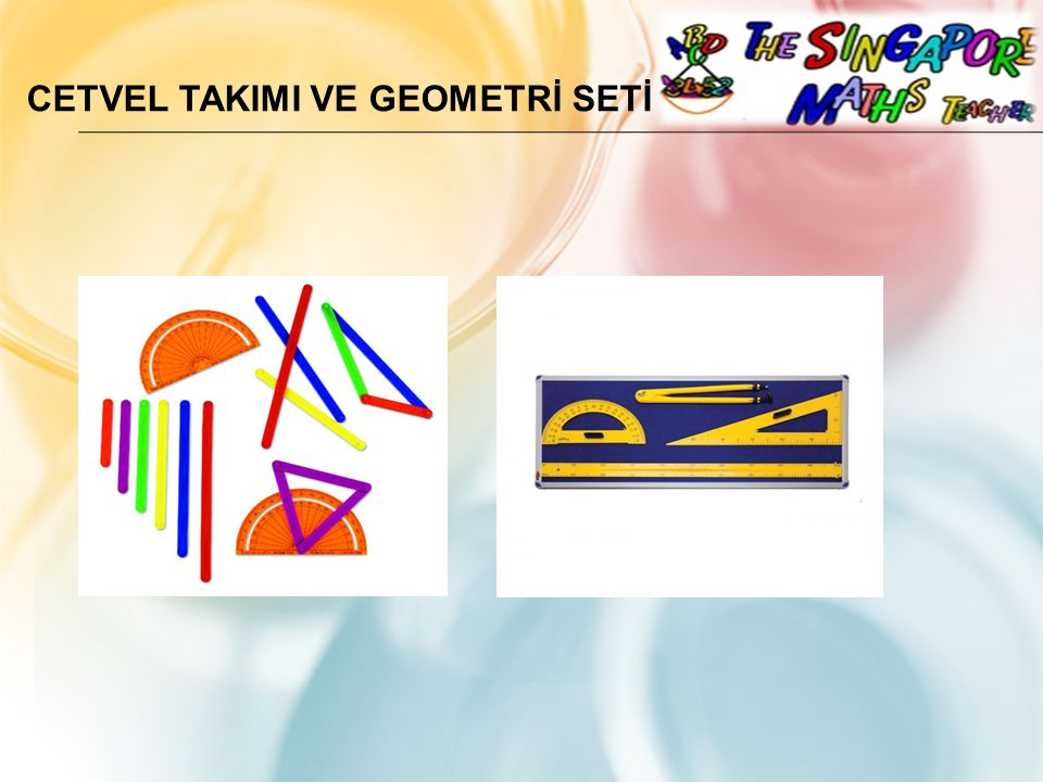 Cetvel TakImI ve Geometrİ Setİ