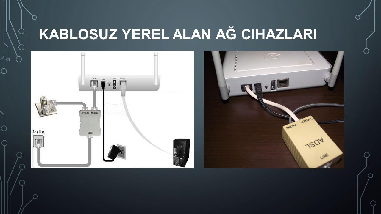 Kablosuz Yerel Alan Ağ CihazlarI