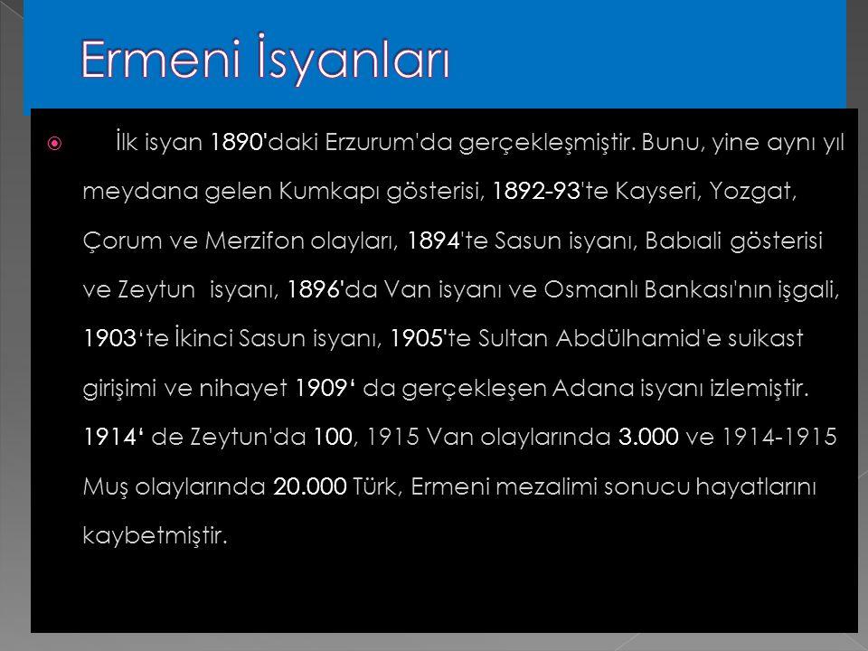 Ermeni İsyanları