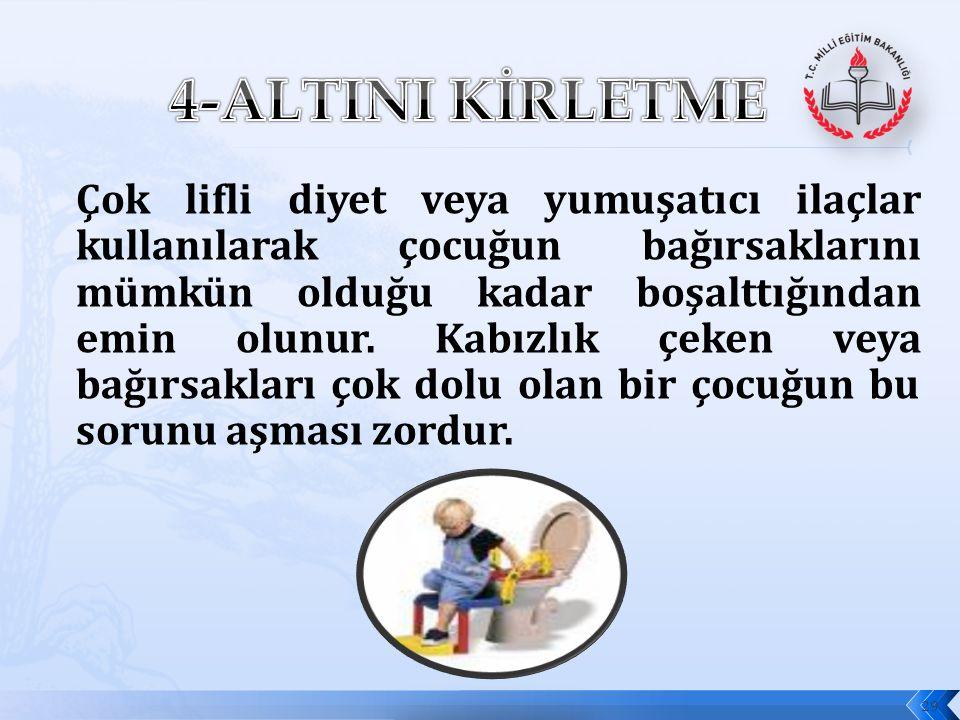4-ALTINI KİRLETME