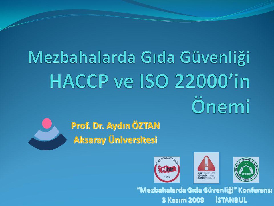 Mezbahalarda Gıda Güvenliği HACCP ve ISO 22000'in Önemi