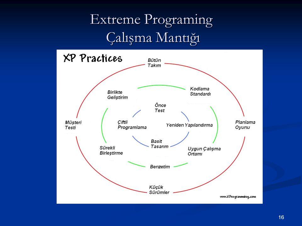 Extreme Programing Çalışma Mantığı