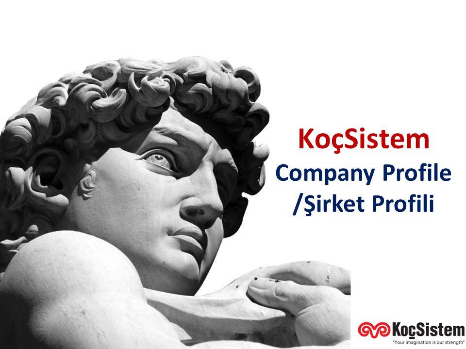 KoçSistem Genel Tanıtımı Company Profile /Şirket Profili