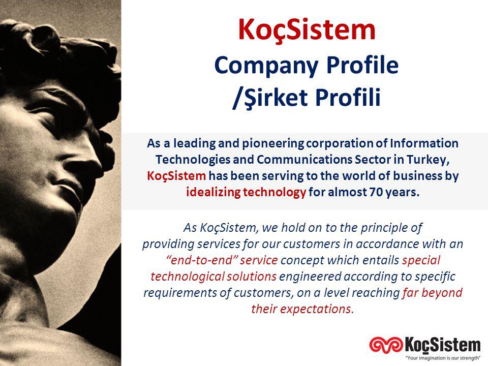 Company Profile /Şirket Profili
