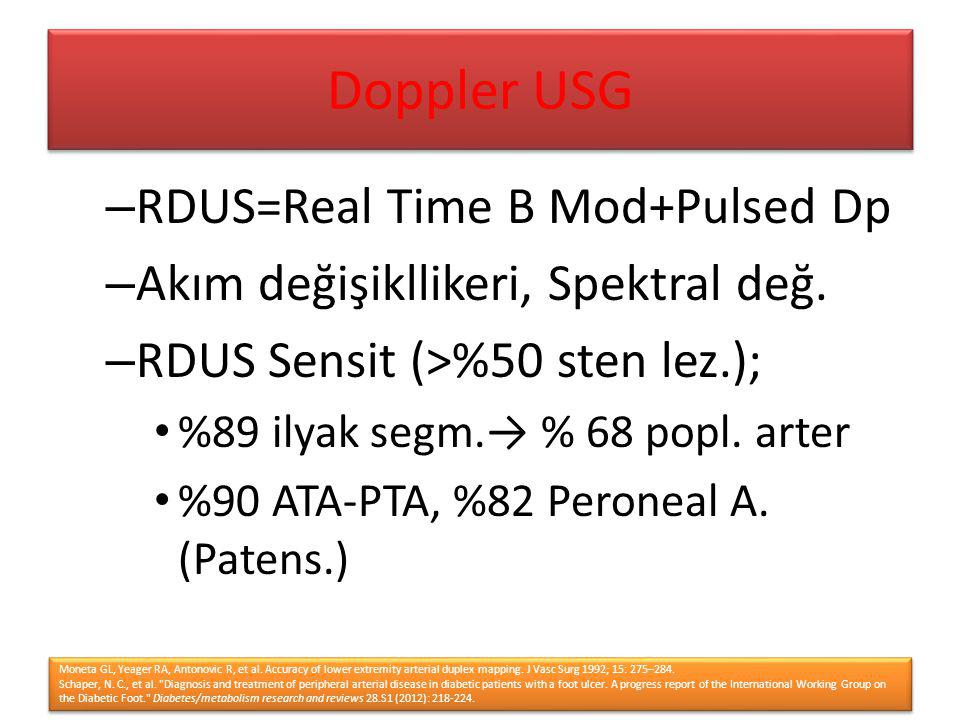 Doppler USG RDUS=Real Time B Mod+Pulsed Dp