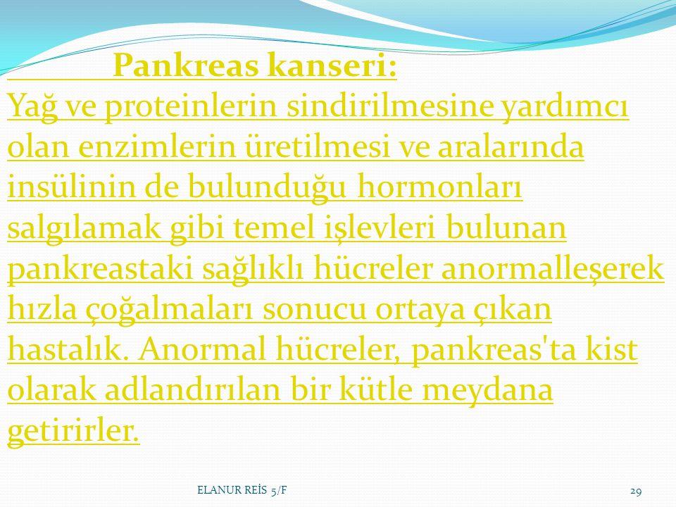 Pankreas kanseri: