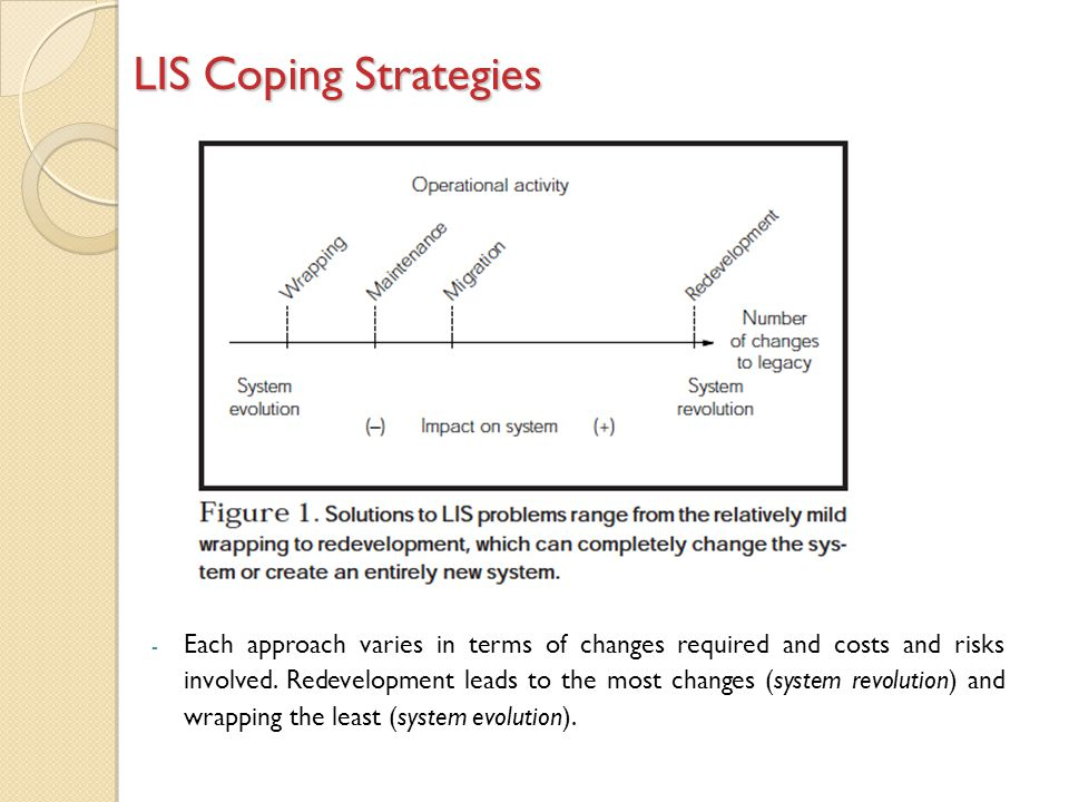 LIS Coping Strategies