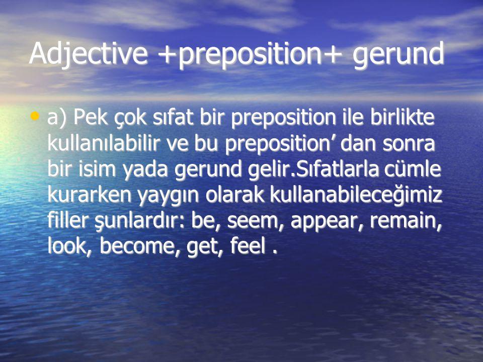 Adjective +preposition+ gerund
