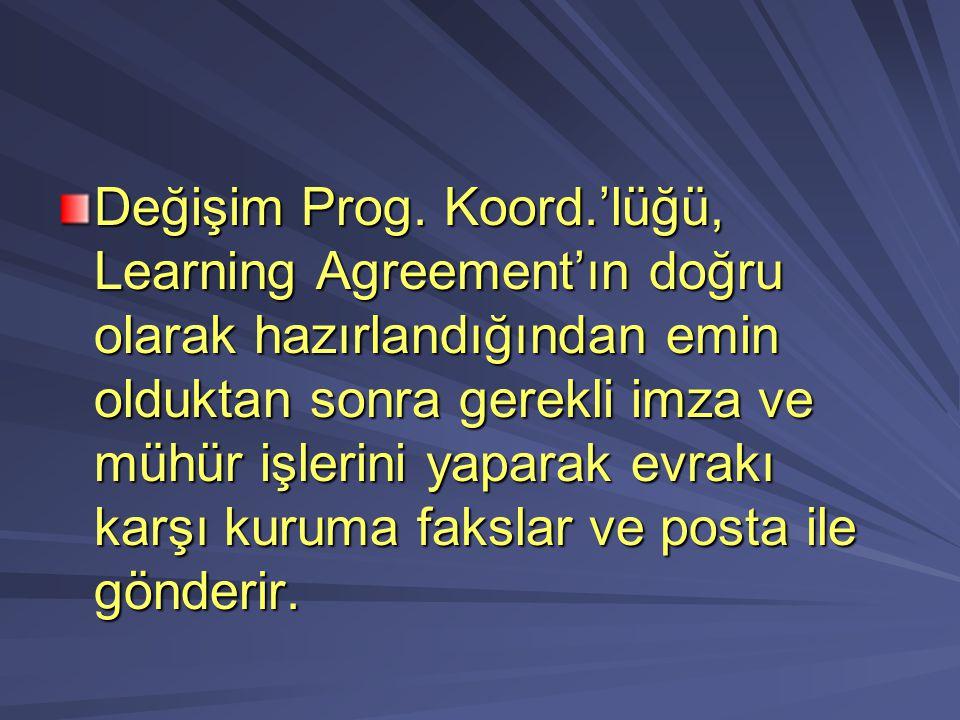 Değişim Prog.