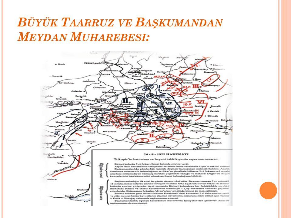 Büyük Taarruz ve Başkumandan Meydan Muharebesi: