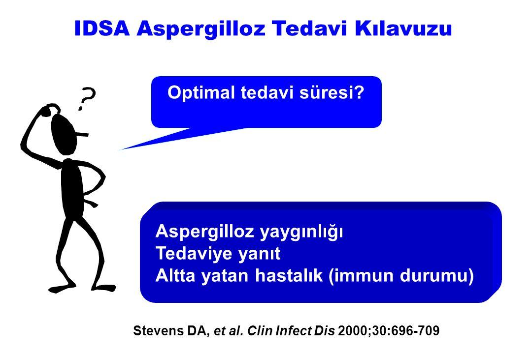 IDSA Aspergilloz Tedavi Kılavuzu