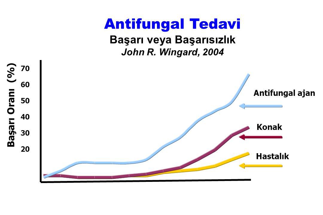 Antifungal Tedavi Başarı veya Başarısızlık John R. Wingard, 2004